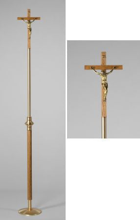 Processional Cross with stand- DO2870