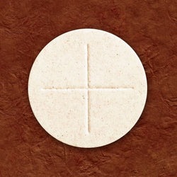 "2-3/4"" White Altar Bread-GV2"