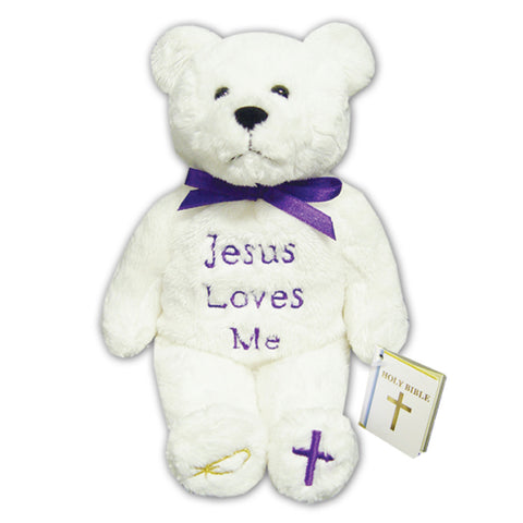 Jesus Loves Me Holy Bear - TXJLMB