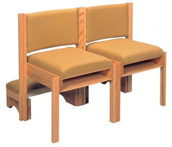 Interlocking Full Back Chair - AI303