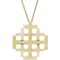 Jerusalem Pectoral Cross - XW326-P