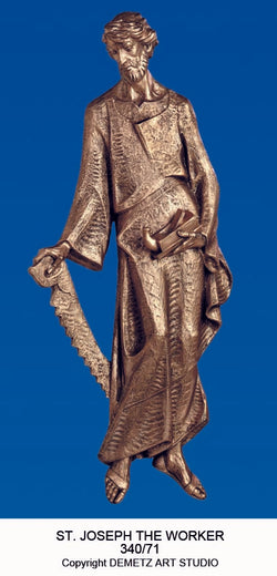 Saint Joseph 3/4 Relief - HD34071