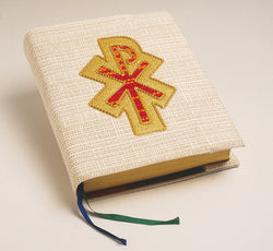 Book Cover White with Chi-Rho - WN1043