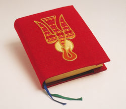 Book Cover Red with Holy Spirit - WN1044