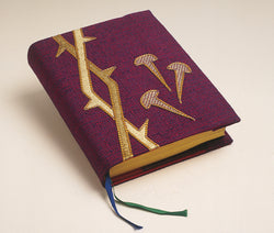 Book Cover in Purple for Lent - WN2394