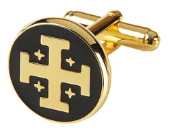 Cuff Links Jerusalem Cross  - OFCUFFLINK#12