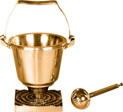 Holy Water Pot with Sprinkler-JL390-29