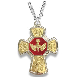 Cross Necklace - WOSM9668SH