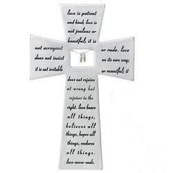 Love Never Fails Wall Cross - LI40171