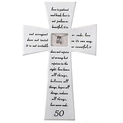 50th Anniversary Wall Cross - LI40177