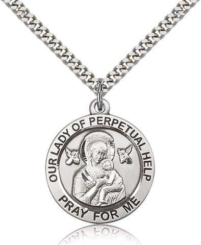 Our Lady of Perpetual Help Medal - FN4077SF24S