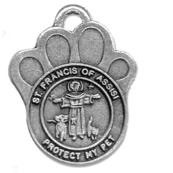 St. Francis of Assisi Pet Medal - WOSB4104