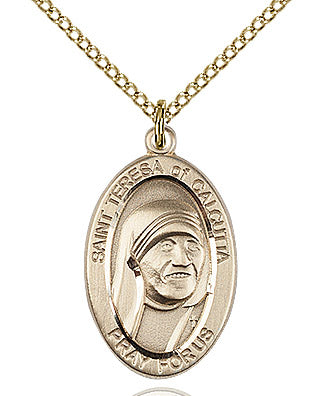Saint Teresa of Calcutta Medal - FN4123tGF18GF