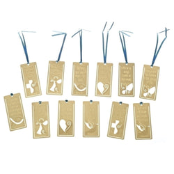 "3"" Brass Bookmark Asst. - LI41240"