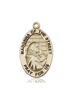 Madonna of the Street Medal - FN4124KT