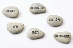 Jesus is My Rock Pocket Stones - LI41493