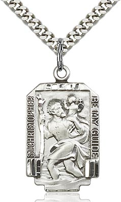 St. Christopher Medal - FN4209SF24S