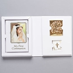 Girl Communion Folder Set - LI42659