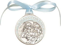 Personalized Crib Medal Blue - FN4300BPW