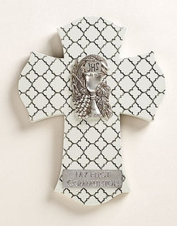 "8"" H COMMUNION WALL CROSS - LI44034"