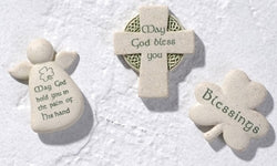 "2"" Irish Pocket Faith stones - LI47268"