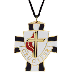 United Methodist Crucifer Pendant - XW499