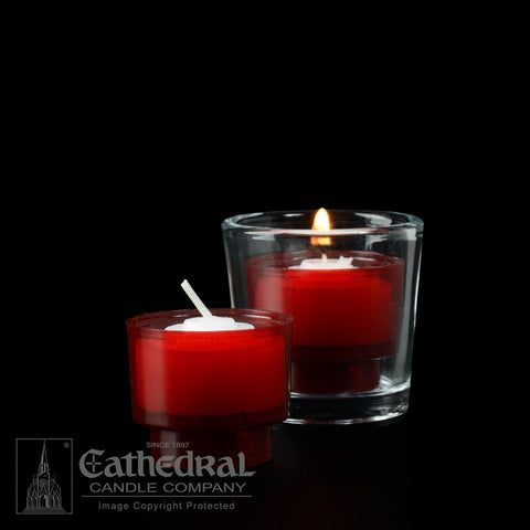 4-Hour Ruby EZ Votive Lights - GG714-R