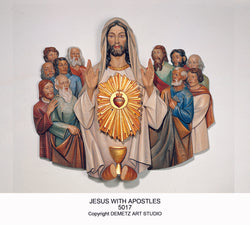 Jesus with Apostles with Tabernacle - HD5017