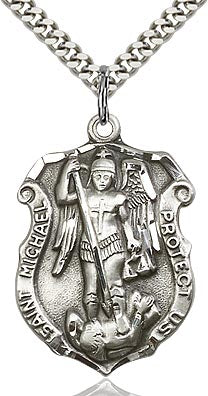 St. Michael the Archangel Medal - FN5448SF24S