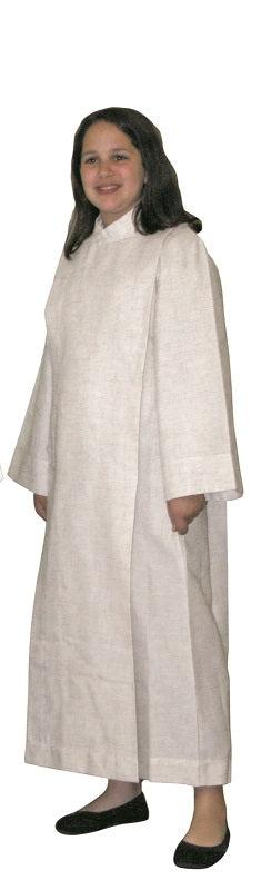 SL558 Front Wrap Cassock Alb for Boys and Girls