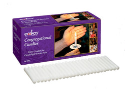 UM1947 - Extra Congregational Candles - 125 per box