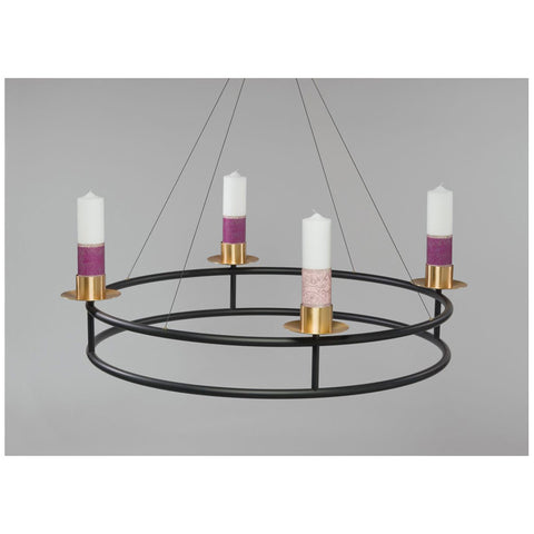 Large Hanging Advent Wreath - DO3905