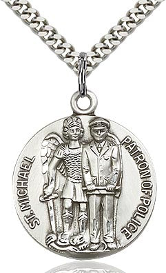 St. Michael the Archangel Medal - FN5680SF24S