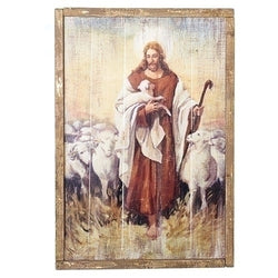 The Good Shepherd Plaque - LI600219