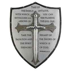 Armor of God Wall Plaque - LI60097