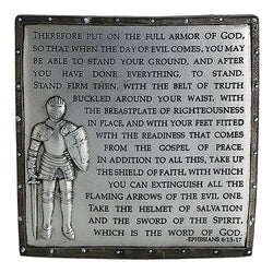 Armor of God Desk Plaque - LI60098