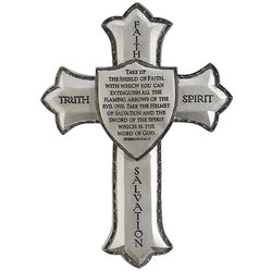 Armor of God Wall Cross - LI60099