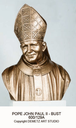 Pope John Paul II Bust - HD600/129A
