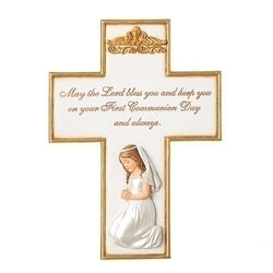 Communion Girl Cross - LI604013