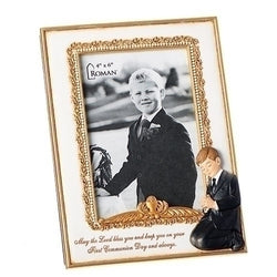 Communion Boy Frame - LI604019