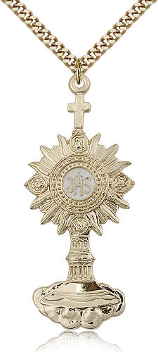 Monstrance Medal - FN6099GF24G