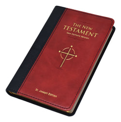 St. Joseph N.C.V. New Testament Pocket Edition  - Burgundy - GF63019BG