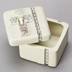 "1.5"" COMMUNION KEEPSAKE BOX - LI64896"