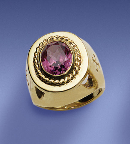 Bishop's Amethyst Ring - DO4372