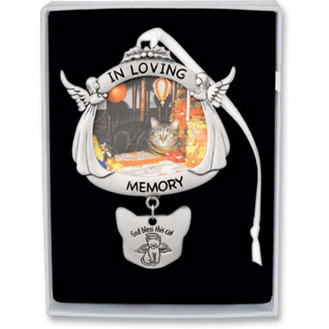 In Loving Memory Cat Memorial Ornament - GECO736