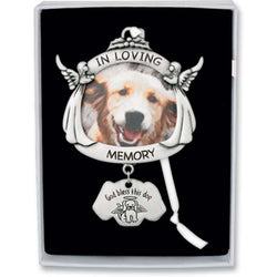 In Loving Memory Dog Memorial Ornament - GECO737