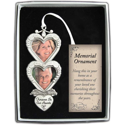 In Loving Memory Double Frame Ornament - GECO743