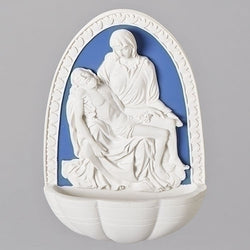 Mary & Jesus Water Font - LI66302