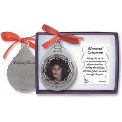 In Loving Memory Frame Ornament - GECO752