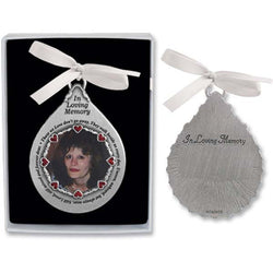Tear-Shaped Picture Frame Ornament - GECO753